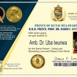 Baroness Uba Iwunwa Award