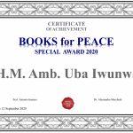 Baroness Uba Iwunwa Book Award