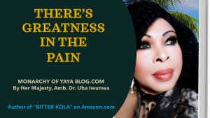 THERE'S GREATNESS IN THE PAIN<br>Do you feel targeted? Are you under an attack?